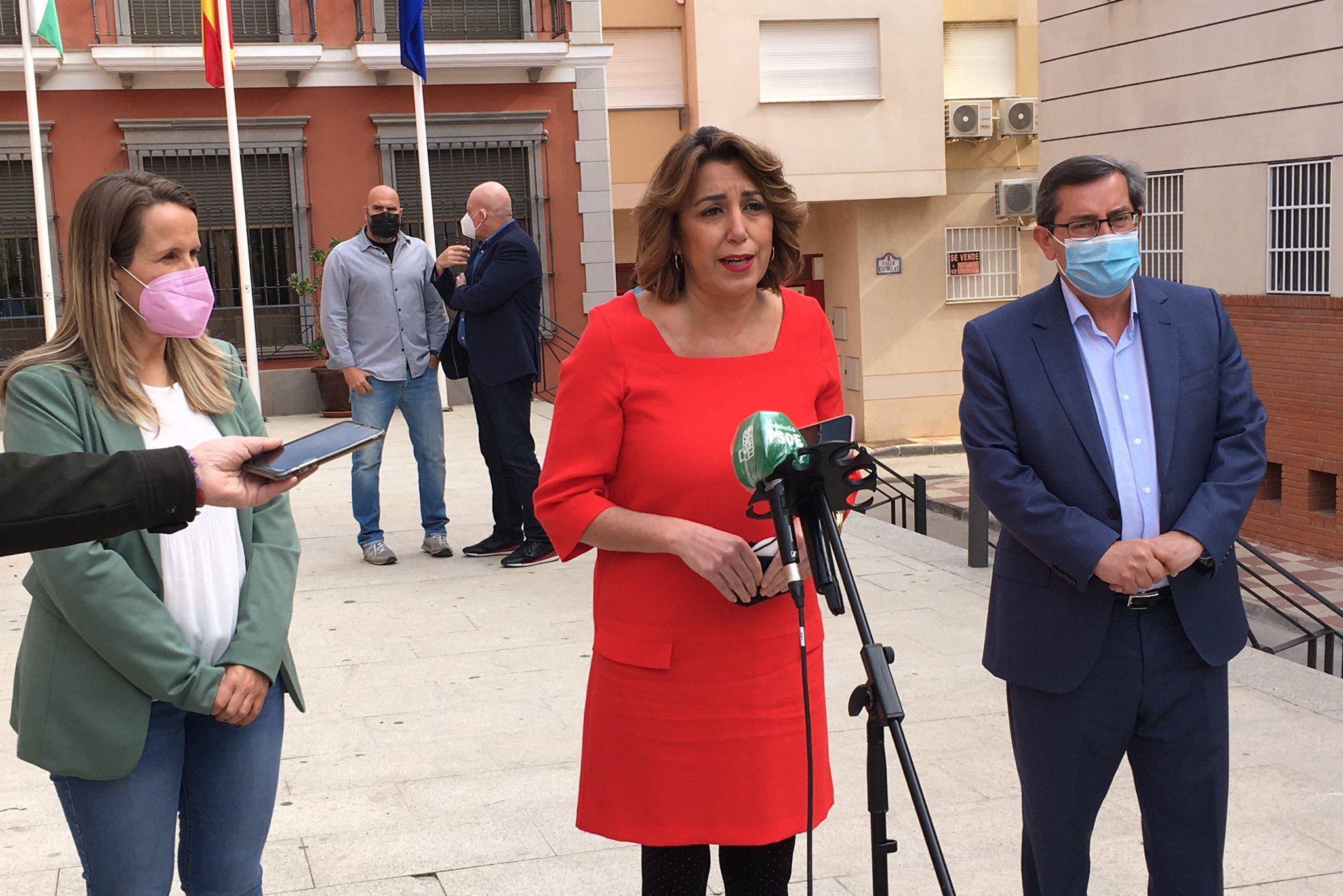 Susana Díaz visita Gualchos - Castell de Ferro