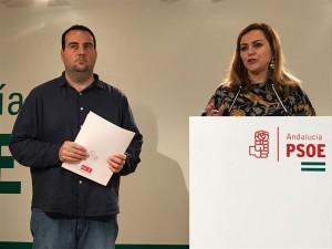 FOTO PSOE Maria Jesus Serrano y Alex Casares 20180125
