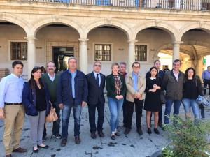 FOTO PSOE Reunion Guadix Enmiendas PGE 2017