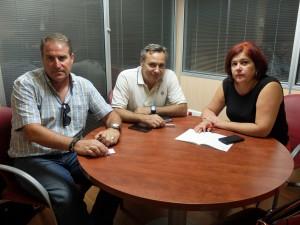 FOTO PSOE Sindicatos Carcel 20170707