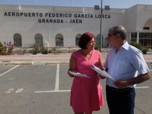 FOTO PSOE Vuelos Melilla 20170713