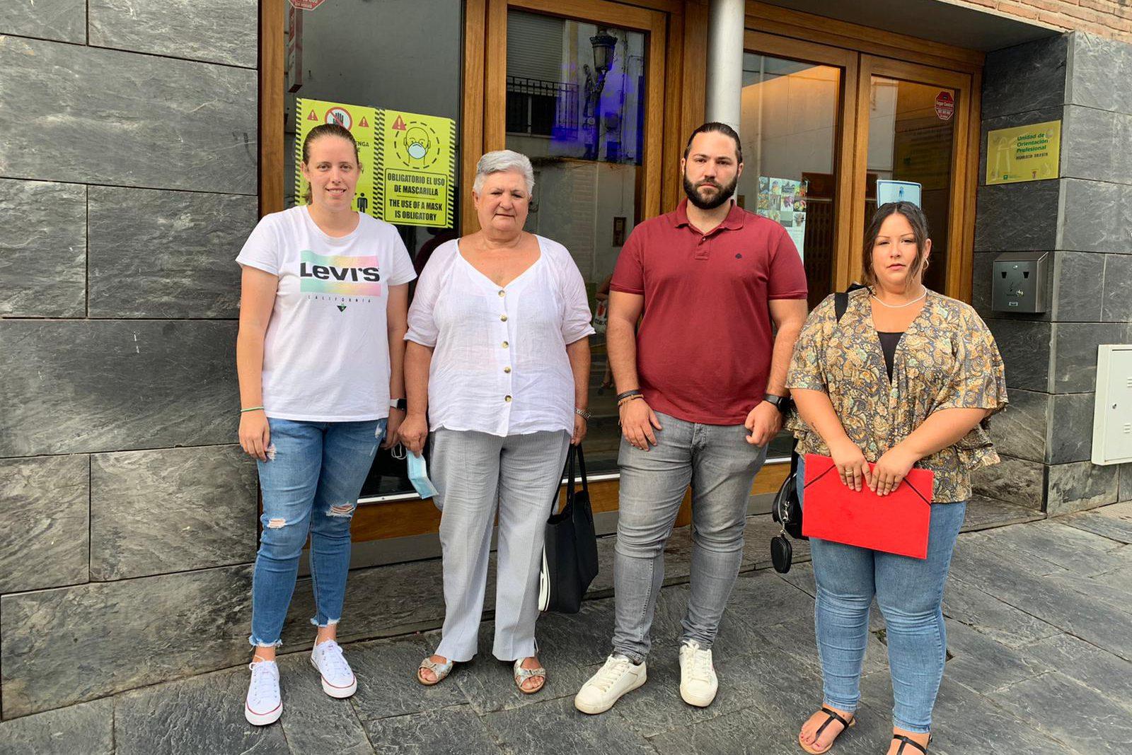 Grupo municipal socialista Órgiva